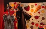 """Invitación a obra infantil """"Frutty y las verduras"""""""