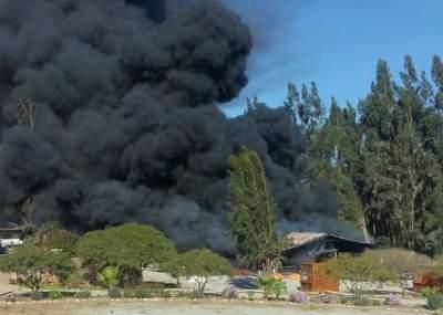 Declaran Alerta Amarilla en Galvarino por múltiples focos de incendios forestales