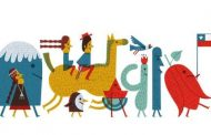 El doodle chileno con el que Google celebró las Fiestas Patrias