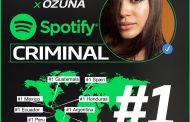 """""""CRIMINAL"""" de Natti Natasha y Ozuna ocupa el puesto #1 en el chart global de Youtube"""