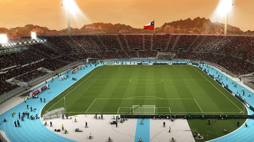 El increíble look que tendrá el Estadio Nacional en PES 2018