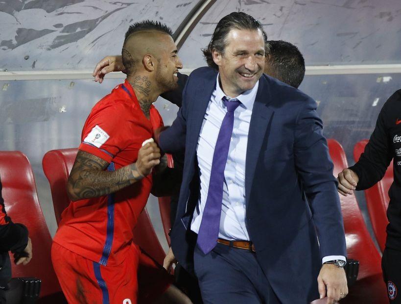 Deportes: Vidal se desmarcó de Valdivia:
