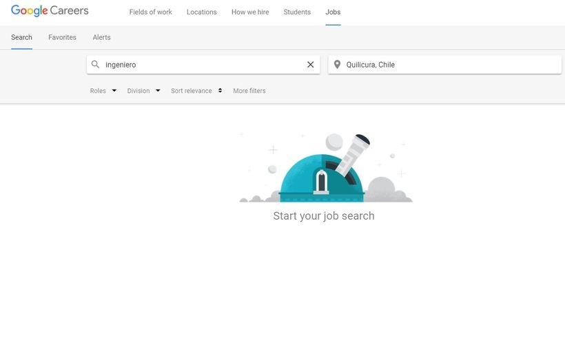 Google habilitó en Chile una herramienta para buscar trabajo
