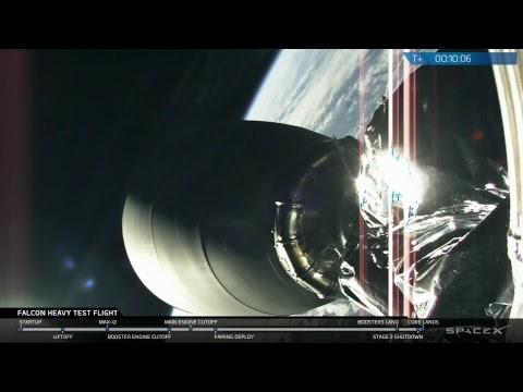 [VIDEO] Mira el exitoso lanzamiento del cohete más potente del mundo