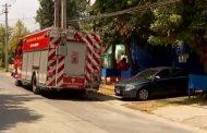 Derrumbe en construcción en Ñuñoa dejó tres trabajadores heridos