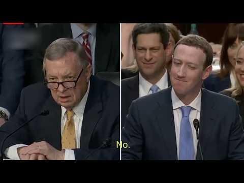 [VIDEO] La incomodidad de Mark Zuckerberg ante pregunta sobre su privacidad en el Congreso de EE.UU.