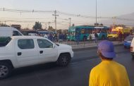 Bus del Transantiago impactó contra un triciclo y dejó tres muertos en Peñalolén