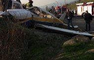 Confirman que dos heridos del accidente de avioneta en Peñalolén permanecen en riesgo vital