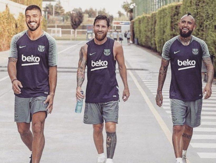 Deportes: Medio español afirmó que Messi y Suárez