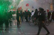 Manifestación de estudiantes frente al Ministerio del Trabajo terminó con incidentes
