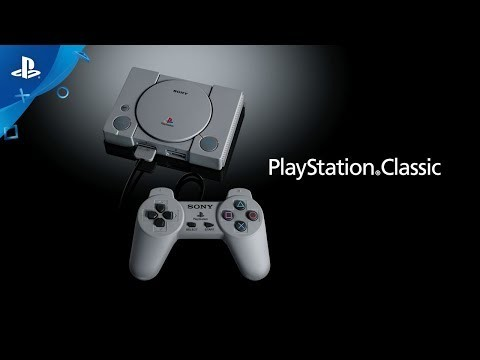 Sony lanzará una versión mini de la PlayStation original