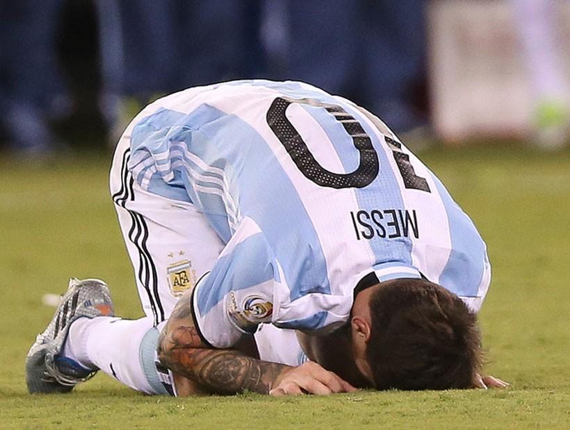 Deportes: Revelaron desoladora escena de Messi tras perder la Copa América 2016: