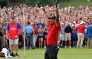 Deportes: Tiger Woods logró su primera victoria después de cinco años
